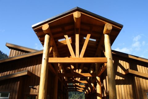 Tuckwiowhum Timber Structure